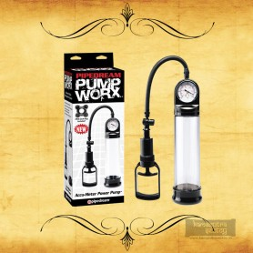 Worx Accu-Meter Power Penis Enlargement Pump PE-010