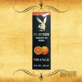 Playboy Lubricant Water Based Gel - Orange Flavoured CGS-033