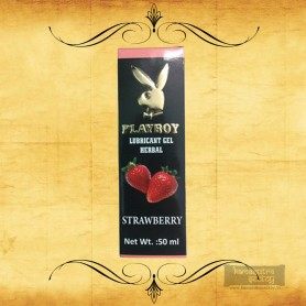 Playboy Lubricant Water Based Gel - Strawberry Flavoured CGS-034