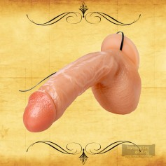 Sex Flesh MultiSpeed Maddox Realistic Vibrator with SuctionV1 RSV-044