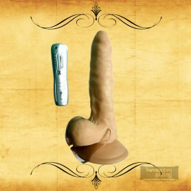 Sex Flesh MultiSpeed Maddox Realistic Vibrator with SuctionV2 RSV-045
