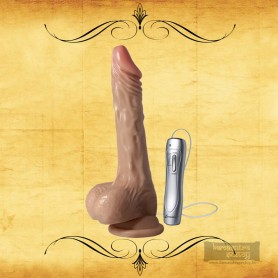 Sex Flesh MultiSpeed Maddox Vibrating Realistic Vibrator with SuctionV3  RSV-046