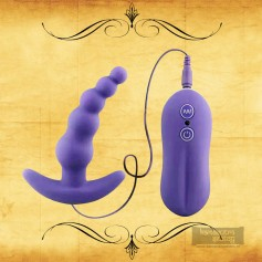 Vibrating Anal Plug Beads Prostate Massager Ad-028