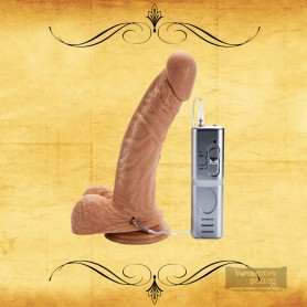 Realistic Vibrator with Suction Cup 7 Inch RSV-076