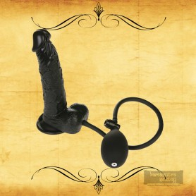 Ultimate Inflatable Realistic Non Vibrator in Black RSNV-011