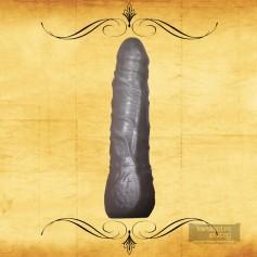 Sex Flesh Silver Realistic Non Vibrator RSNV-022
