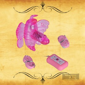 Butterfly Remote Control Strap On Vibrator SO-009